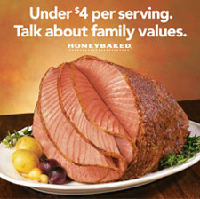 09familyvalues hero $9 Honey Baked Ham Coupon