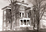 Duncan Manor, Italianate post-Civil War farmhouse in McLean County, Illinois, currently under restoration