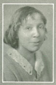 Marie Brown, African-American pharmacy student at the University of Iowa, 1930
