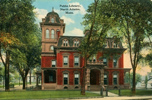 Postcard of the North Adams (Mass.) Public Library