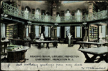 Library Reading Room, Princeton University, 1909. AC045 