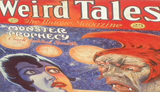 Weird Tales magazine, from Treasures of the NYPL video series