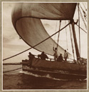 Dhow Zam Zam under sail. Winterton Collection of East African Photographs, Melville J. Herskovits Library of African Studies, Northwestern University, Evanston. Object 36-1-13. 1 July, 2009