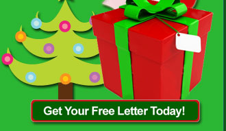 Get your free Santa Letter today