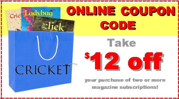 Save $12 on magazines! Use Coupon code N405